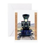 Golden Spike National Monument Greeting Card