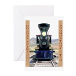 Golden Spike National Monument Greeting Cards (Pk
