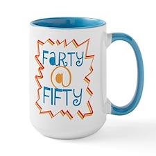 Farty At Fifty Mug