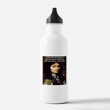 Rene Descartes Raise My Soul Water Bottle