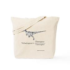 Velociraptor Formula Tote Bag