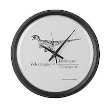 Velociraptor Formula Large Wall Clock