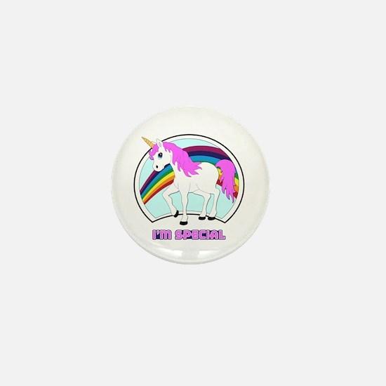 I'm Special Funny Unicorn Mini Button