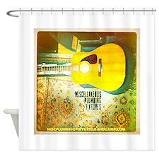 MiscPlumbFixGuitar Shower Curtain