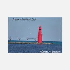 Algoma Pierhead Light Magnets