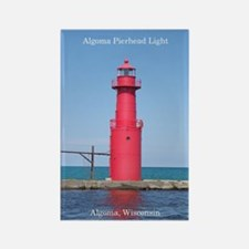Algoma Pierhead Light Tall Magnets