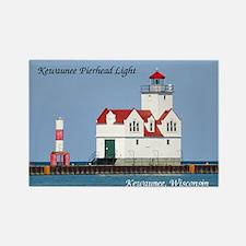 Kewaunee Pierhead Lights Magnets