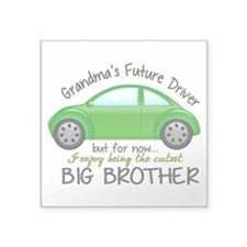 "Big Brother - Car Square Sticker 3"" x 3"""