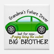 Big Brother - Car Tile Coaster
