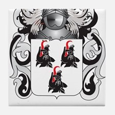 Booth Coat of Arms Tile Coaster