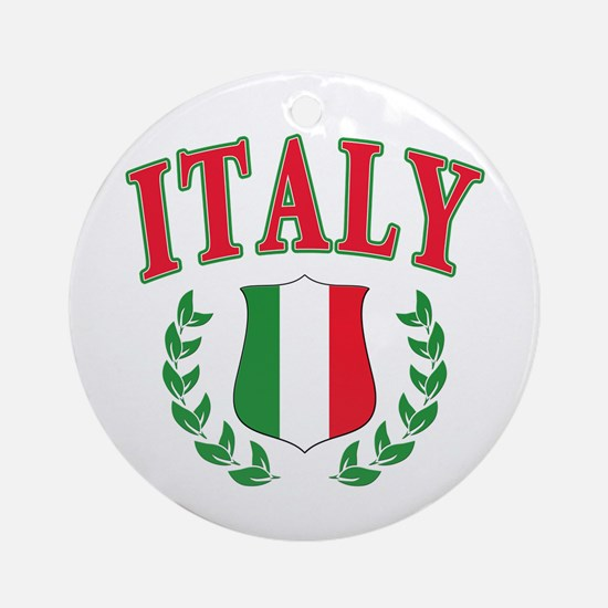 Italy Ornament (Round)