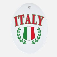 Italy Ornament (Oval)