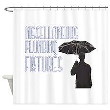 MiscPlumbFixUmbrella Shower Curtain