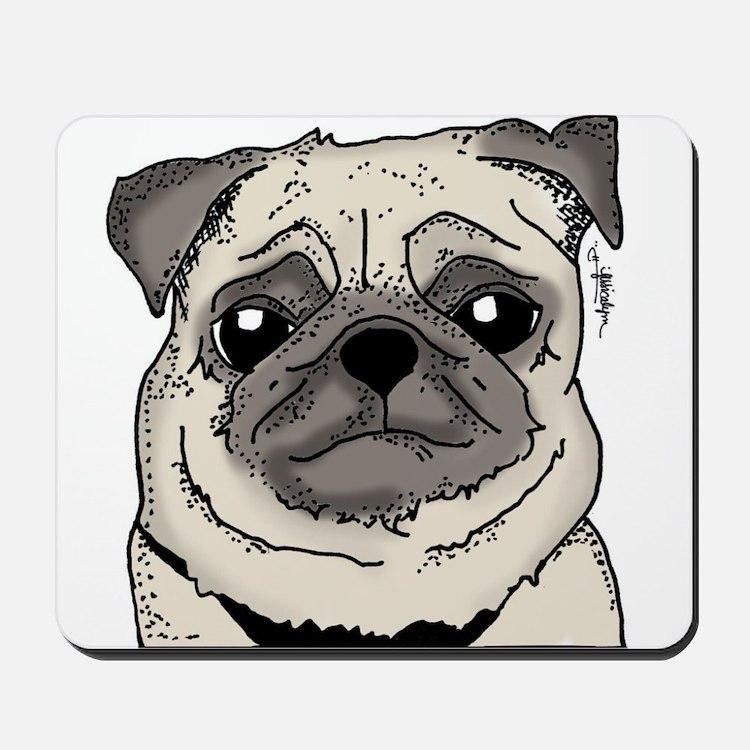 JessicaLynnOriginal - Pug Mousepad