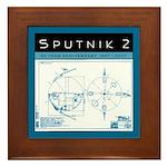 SPUTNIK 2 Blueprints Framed Tile