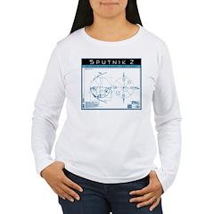 SPUTNIK 2 Blueprints T-Shirt