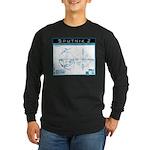 SPUTNIK 2 Blueprints Long Sleeve Dark T-Shirt