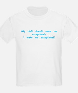 cleft exceptional T-Shirt