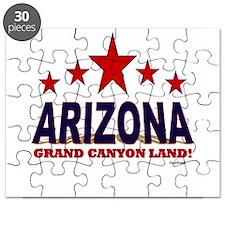 Arizona Grand Canyon Land Puzzle