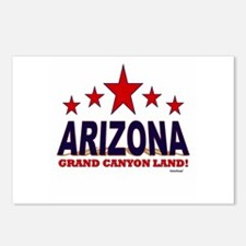 Arizona Grand Canyon Land Postcards (Package of 8)