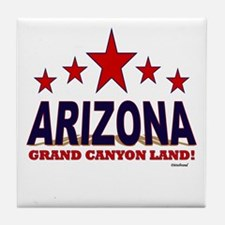 Arizona Grand Canyon Land Tile Coaster