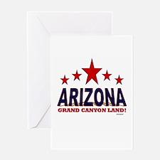 Arizona Grand Canyon Land Greeting Card