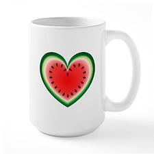 Watermelon Heart Mug