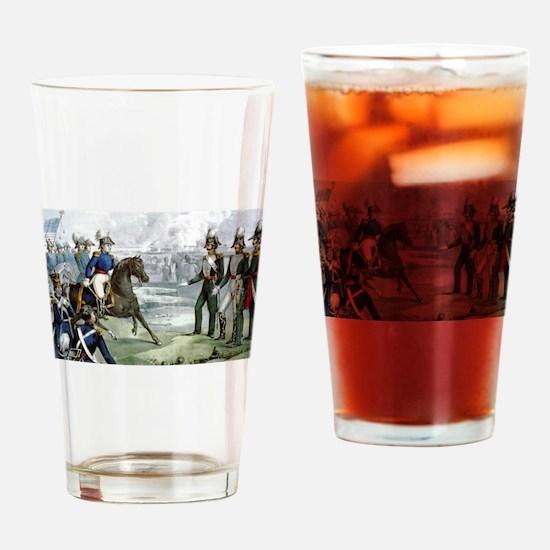 General Taylor never surrenders - 1847 Drinking Gl