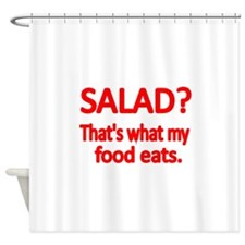 SALAD Shower Curtain