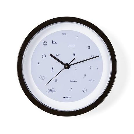 John Cage Whimsical Wall Clock