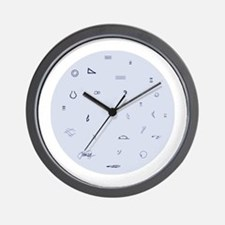 John Cage Whimsical Wall Clock
