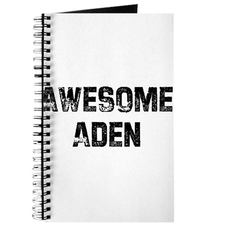 Awesome Aden Journal