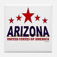 Arizona U.S.A. Tile Coaster