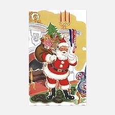 Vintage Christmas, Santa Claus Decal