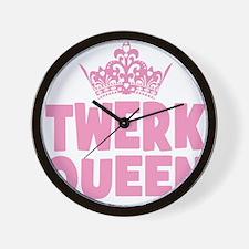 TwerkQueen copy Wall Clock