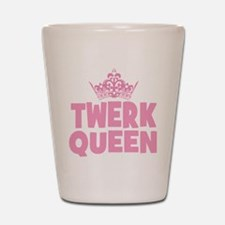 TwerkQueen copy Shot Glass