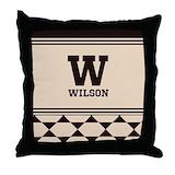 Personalize throw Throw Pillows