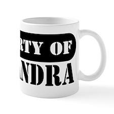 Property of Alejandra Mug