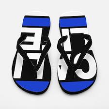 cali life blue Flip Flops