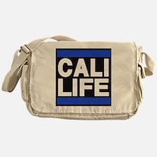 cali life blue Messenger Bag