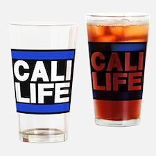 cali life blue Drinking Glass
