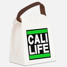cali life green Canvas Lunch Bag