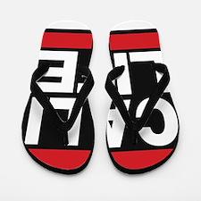 cali life red Flip Flops