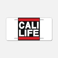 cali life red Aluminum License Plate