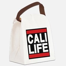 cali life red Canvas Lunch Bag