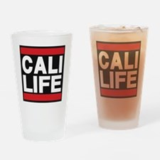 cali life red Drinking Glass