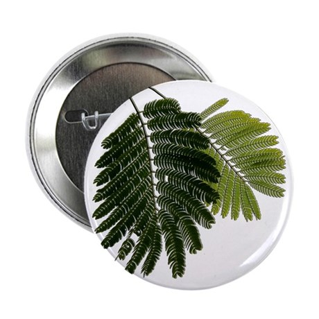"Fine Leaved Embossed Ferns 2.25"" Button"