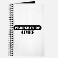 Property of Aimee Journal
