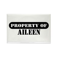 Property of Aileen Rectangle Magnet