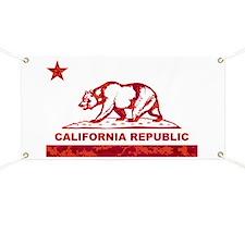 california bear camo red Banner